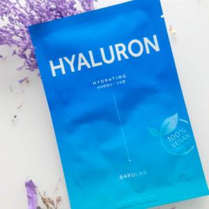 Зволожуюча маска з гіалуроновою кислотою Barulab The Clean Vegan Hyaluron Mask