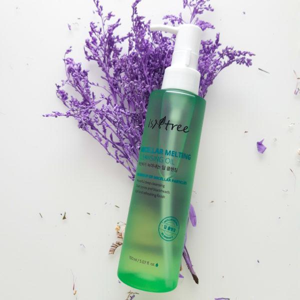 Міцелярна гідрофільна олія для очищення шкіри Micellar Melting Cleansing Oil IsNtree