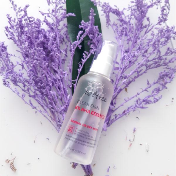 Оновлююча есенція з АНА-кислотами Clear Skin 8% AHA Essence IsNtree