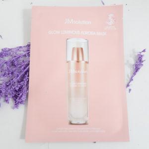 Тканинна маска JM Solution Glow Luminous Aurora Mask для сяйва шкіри з екстрактом перлів