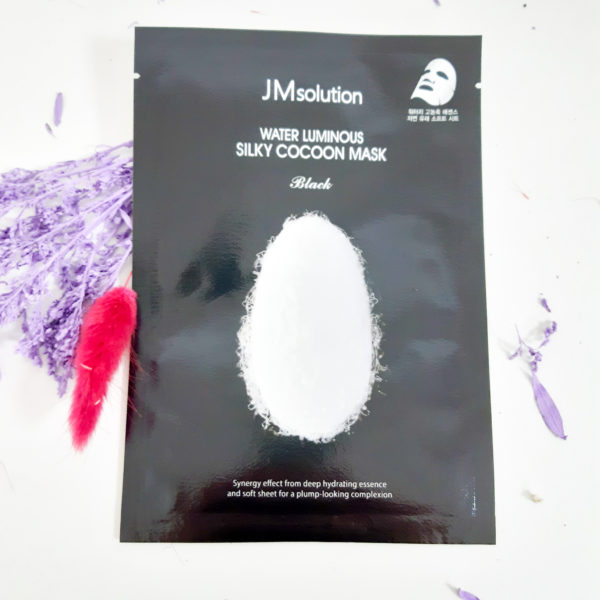 Тканинна маска JM Solution Water Luminous Silky Cocoon Mask Black