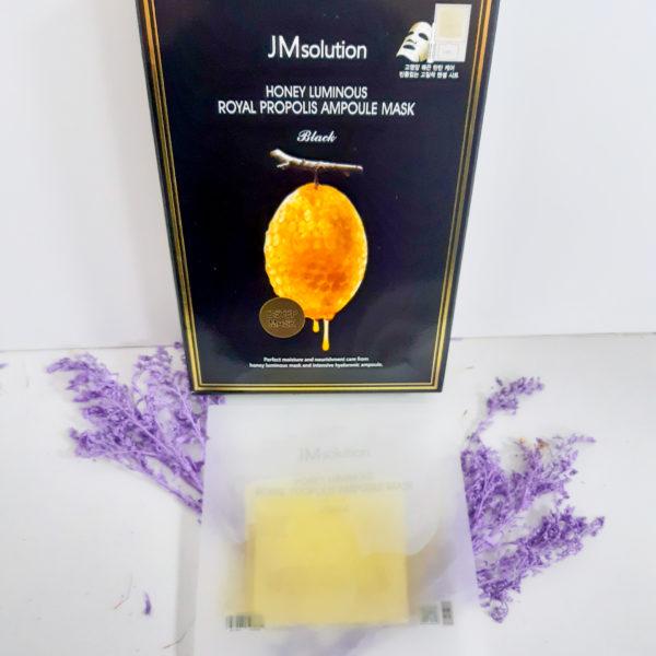 Тканинна маска JM Solution Honey Luminous Royal Propolis Ampoule Mask