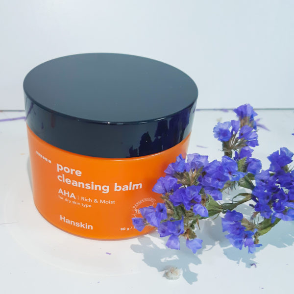 Очищуючий бальзам для сухої шкіри HANSKIN Cleansing Balm AHA – Dry Skin