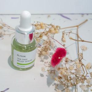 Зволожуюча протизапальна сироватка IUNIK Tea Tree Relief Serum