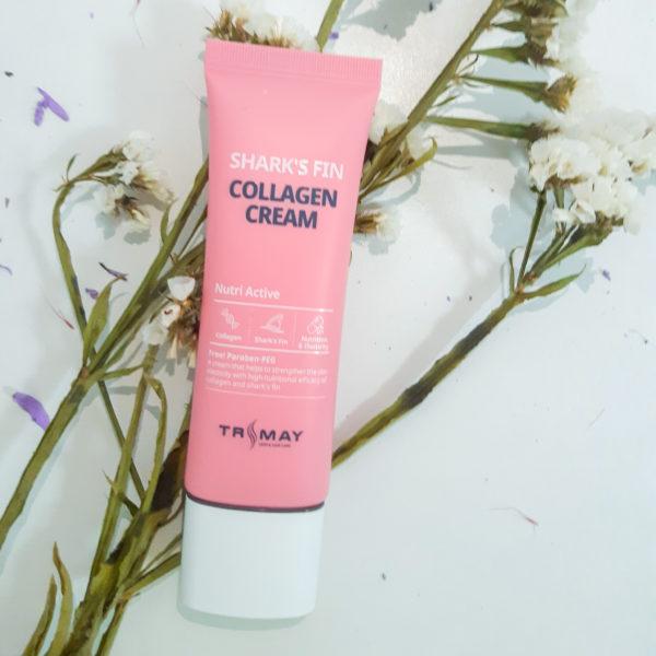 Крем з колагеном і екстрактом акулячого плавника Trimay Shark's Fin Collagen Cream