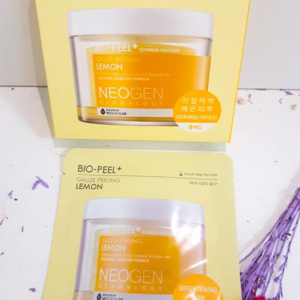 Пілінг диски Neogen Dermalogy Bio Peel Gauze Peeling – Lemon
