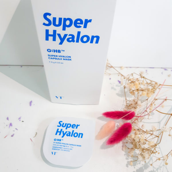Капсульная маска VT Cosmetics Super Hyalon Capsule Mask